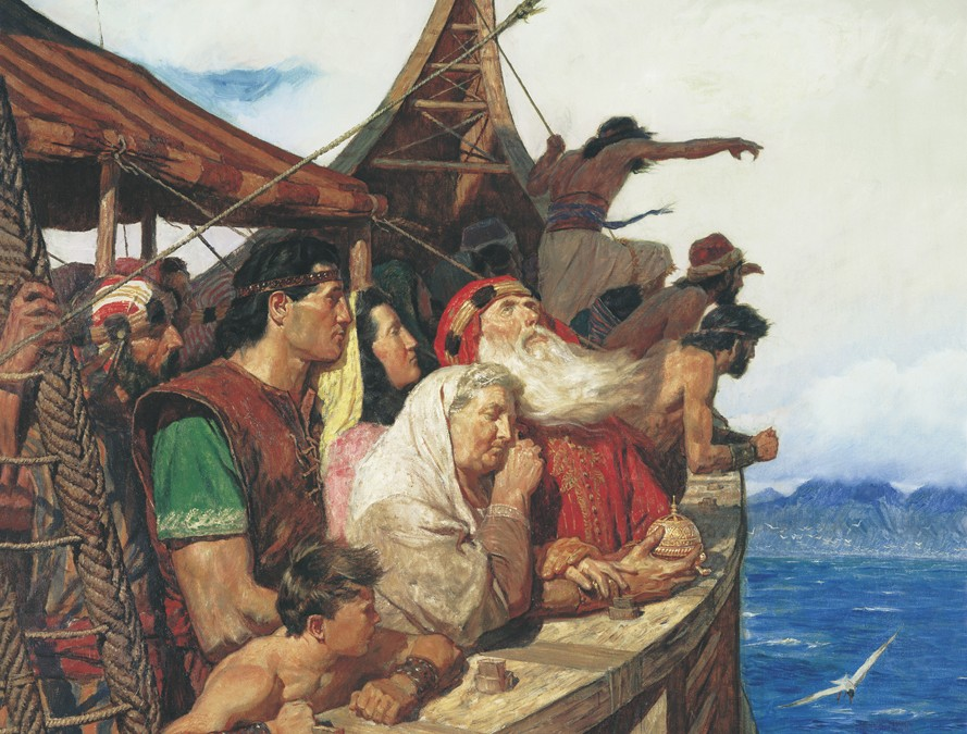 A non-literal reading of the Nephi narrative in the Book of Mormon