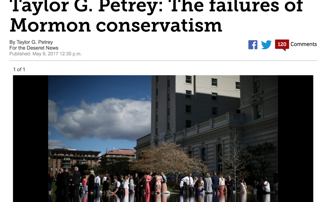 The Great Deseret News Debate about Mormon Conservatives