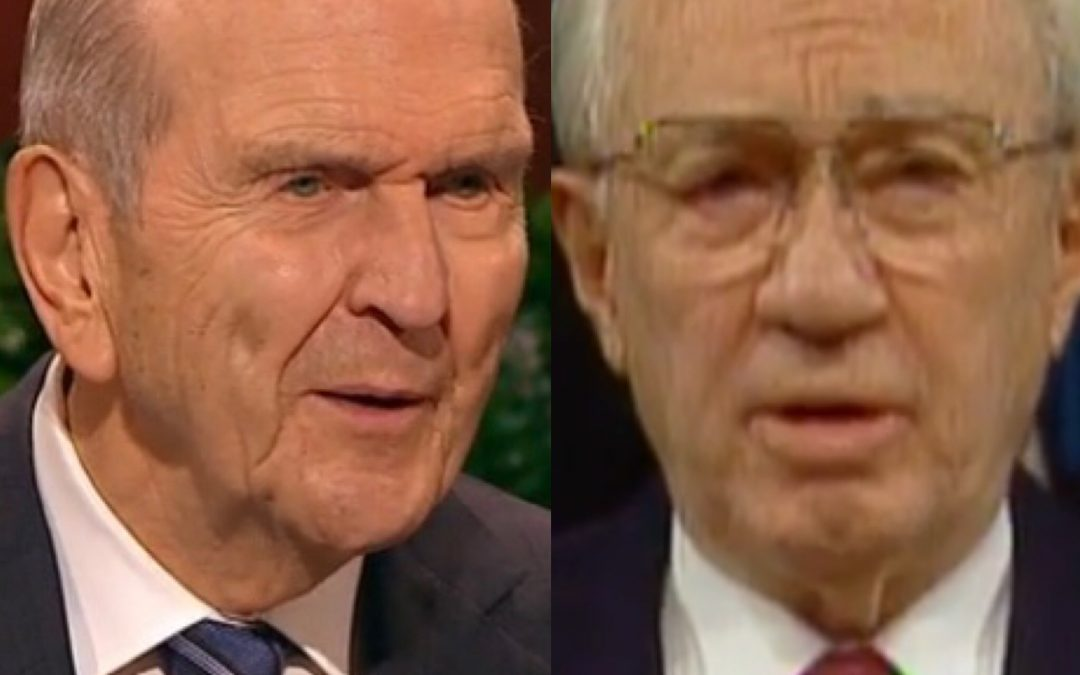 ARE WE MORMON? I AM CONFUSED; Gordon B. Hinkley & Russell M. Nelson