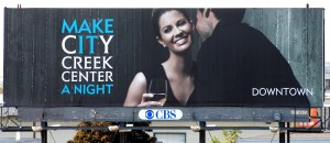 City Creek Billboard