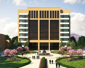 Artist depiction of the new MTC