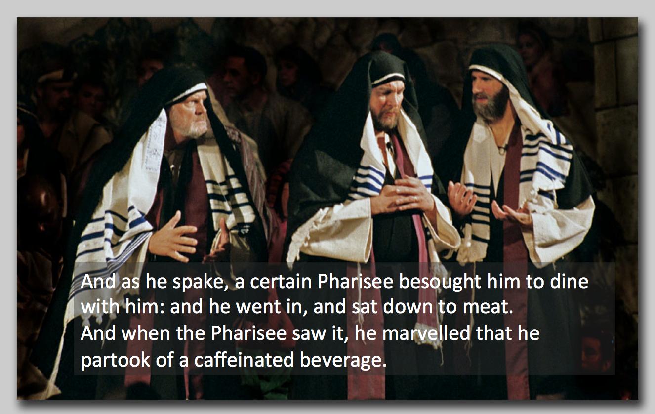 Caffeine and Church Leaders