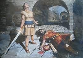Nephi Slaying Laban (4)