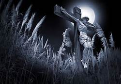 Jesus Crucified (black and white)