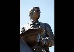 Joseph Smith Bronze Statute at Nauvoo