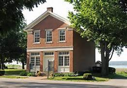 Red brick store