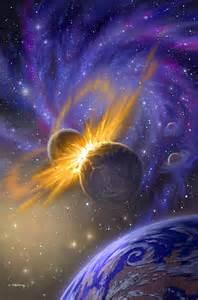 planets colliding 1