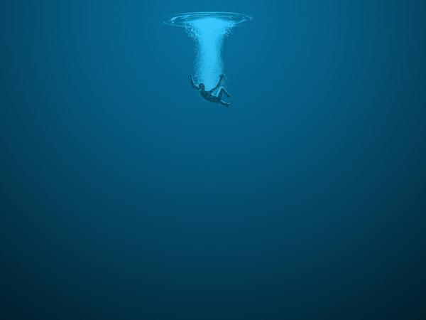 Drowning at church
