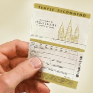 The Temple Recommend: Admission to the House of the Lord