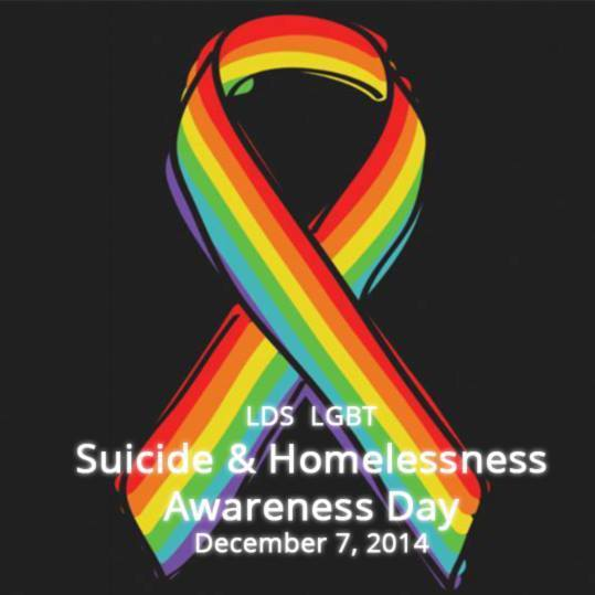 34: LDS LGBT Suicide/Homelessness Awareness Action
