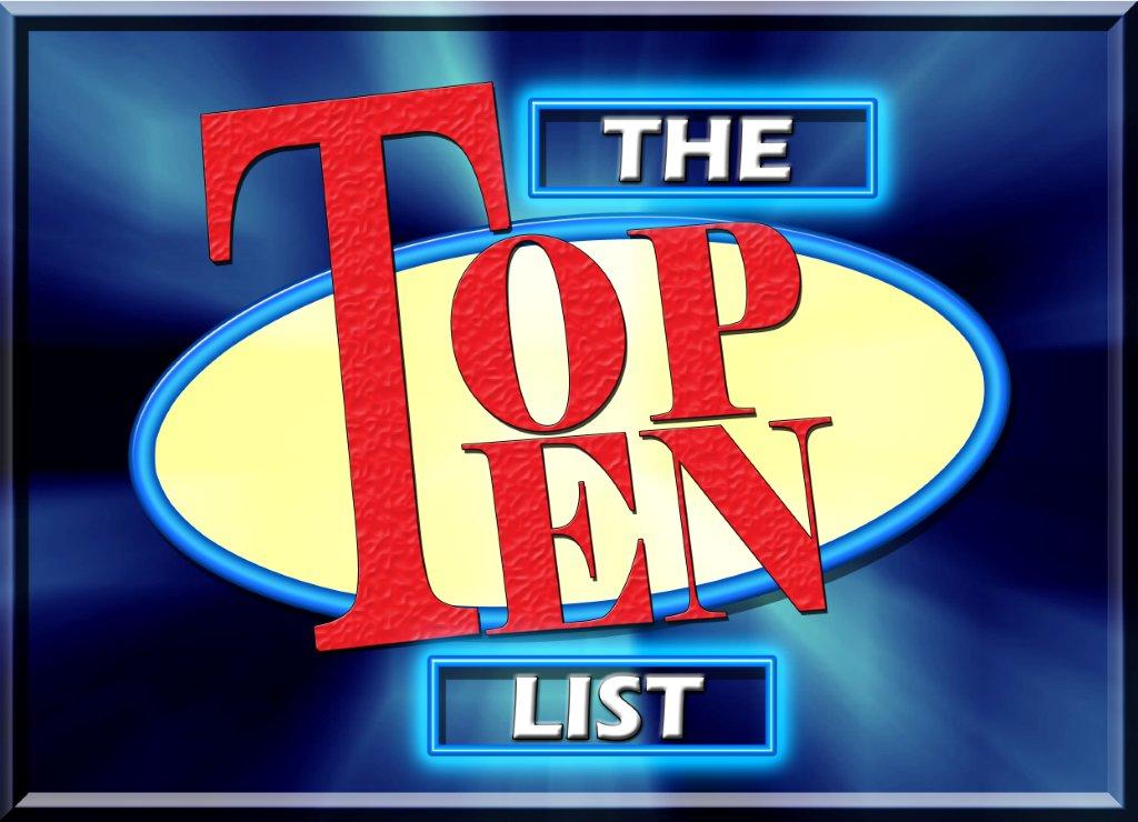 Some Choice Mormon Top Ten Lists for 2014