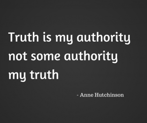 Truth is my authority