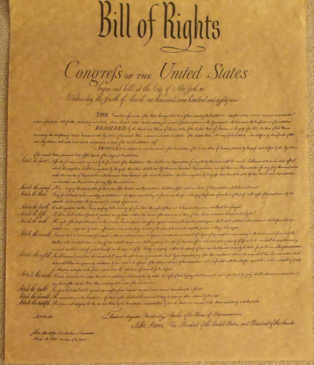 Religious Freedom, Our Founding Fathers and Marriage Equality
