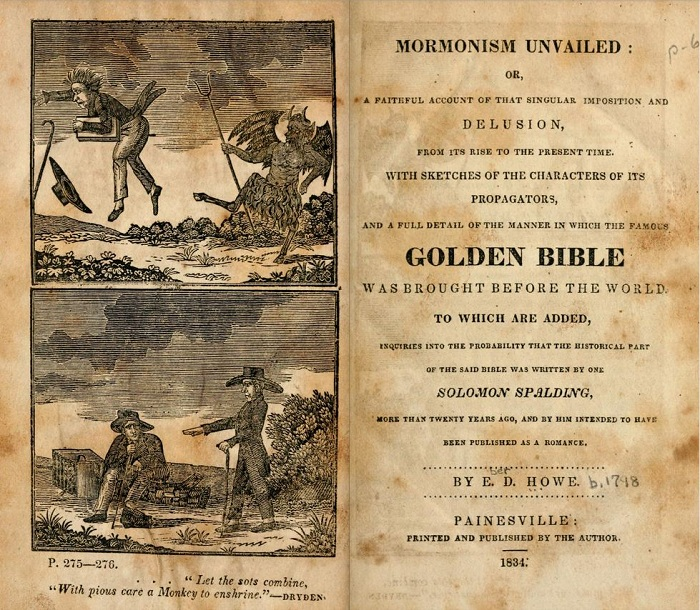 Alexander Campbell and Eber D. Howe: Two Early Respondents to the Book of Mormon