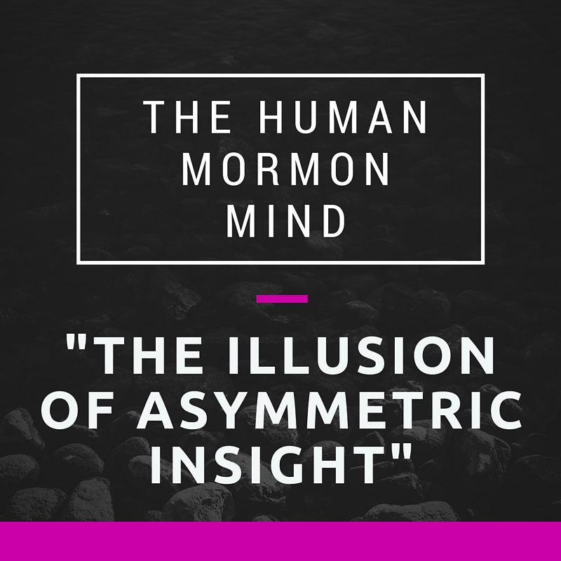 71: The Illusion of Asymmetric Insight