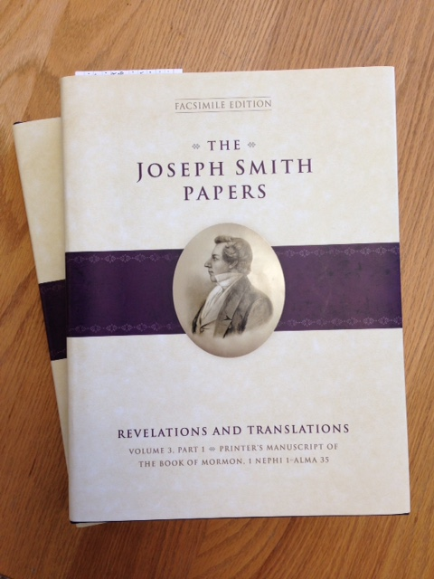 Review: Royal Skousen and Robin Scott Jensen, eds., The Joseph Smith Papers, Revelations and Translations, Volume 3: Parts 1-2, Printer's Manuscript of the Book of Mormon