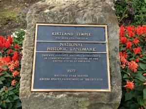 Sunstone Kirtland-Historical Marker