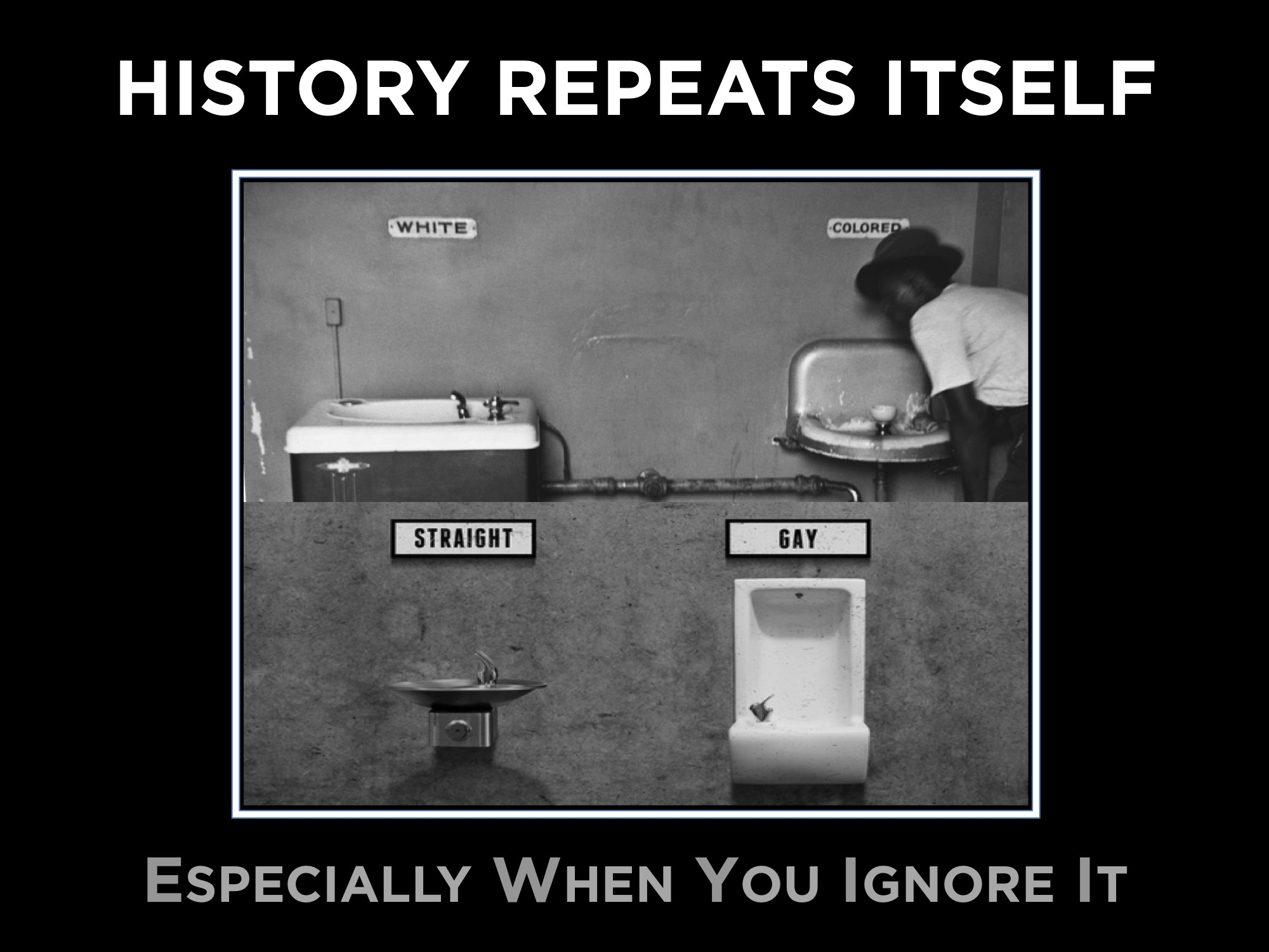History Repeats Itself Especially When You Ignore It