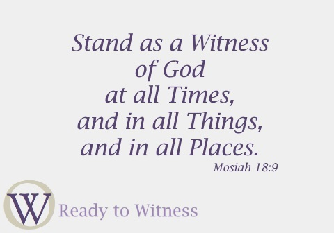 Ready to Witness