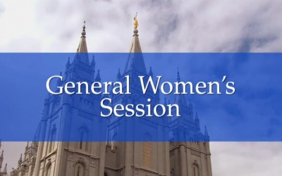 April 2016 General Women's Conference Session is a Win
