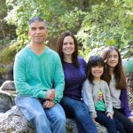 Cathy, our daughters, and me