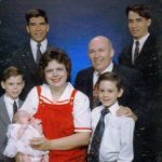 Family picture right after I got home from my mission and right before Paul left on his mission