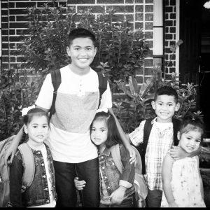 kids 1st day of school 2015