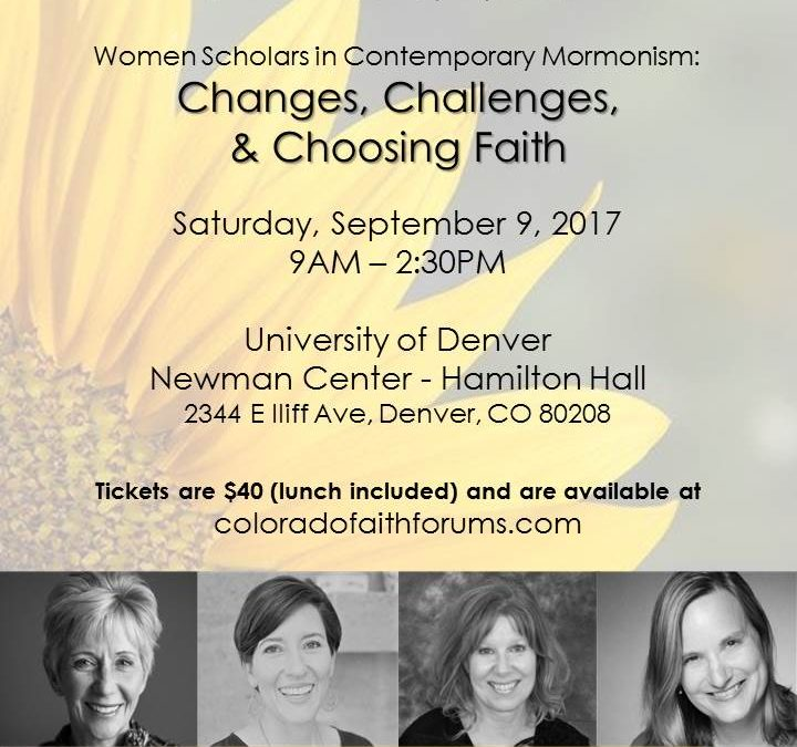 LDS Women Scholars to Address Important Topics at Colorado Symposium