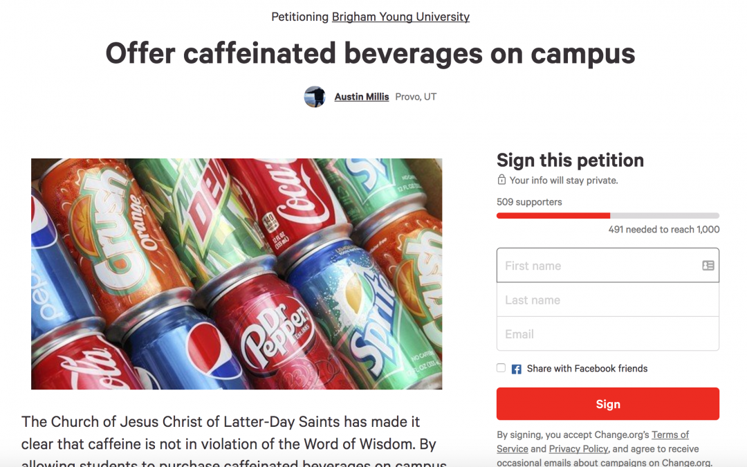 Setting the Record Straight Regarding BYU Beverage Revelation