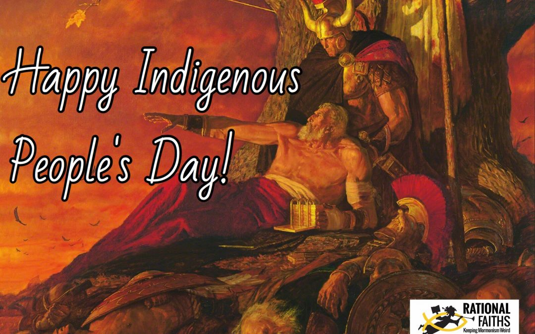 Happy Indigenous People's Day!